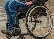 une personne paralysée